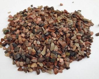 Small Natural Rhodonite Stones, Pink Rocks, Tiny Rhodonite Stones, Small Stones, Rhodonite Chips