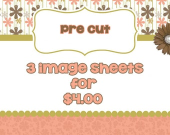 PRE CUT-PICK 3-Bottle Cap Images,Precut Images,Cupcake Toppers,Party Supplies,Pendant Supplies,One Inch Circle