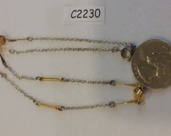 Vintage old stock necklace c2230