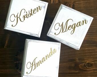 Bridesmaid Gift, Bridesmaid Box, Will You Be My Bridesmaid Box, Monogram Bridesmaid Gift, Maid of Honor Box, Rustic Wedding Gift,