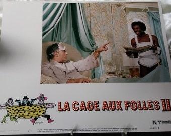Original Lobby Card La Cage Aux Folles II 1980 Film