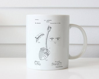 Ophthalmoscope Patent Mug, Optometry, Doctor Office Decor, Eye Doctor, Medical Mug, PP0975