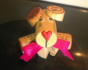 Cork Dogs, Decor, Valentines day,