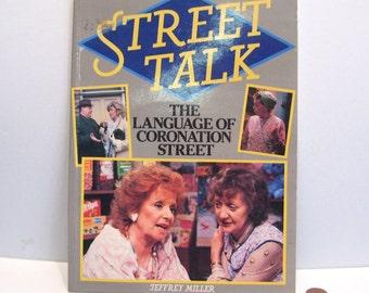 1986 Coronation Street Talk Language by Jeffrey Miller Collcetors Signed