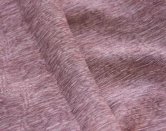 brown/ tree ring pattern/kimono fabric /Vintage Japanese Silk Kimono fabric/reversible