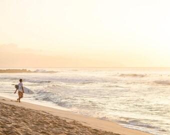 North Shore Hawaiian Surfer