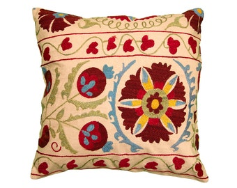 Cushion Cover - VINTAGE SUZANI DESIGN 11 - 45 x 45