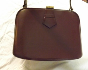 VINTAGE LEATHER BAG Made in England