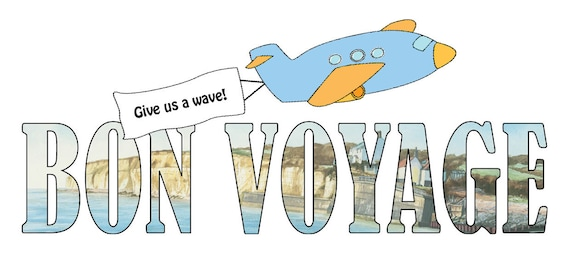 Bon Voyage Card - Give us a Wave
