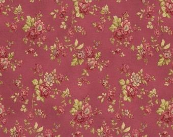 RJR Fabrics Espirit Maison 2469 05 Pink Floral Yardage by Robyn Pandolph