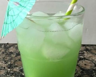 Shamrock Fizz Candle made with Gel Wax