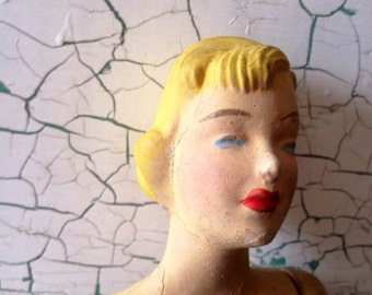 Mannequin Doll 1940's Pattern Sewing Doll