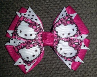 Hello Kitty Handmade Boutique Bow