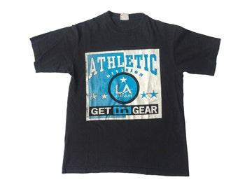 Vintage black LA Gear athletic tee