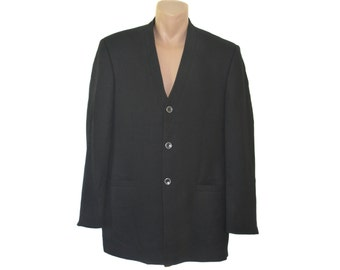Vintage Doris Hartwich men blazer black