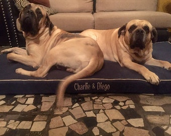 Custom personalized pet bed (dog, cat, pig)
