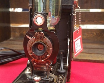 Vintage No. 2 Kodak Camera Lamp