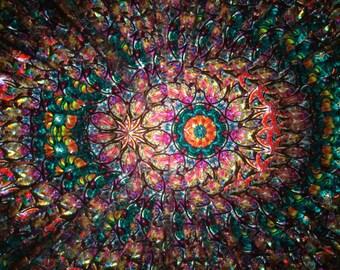 Oval Kaleidoscope, Elliptic Flower Kaleidoscope, Wheels kaleidoscope, Christmas gifts ideas