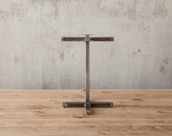 Pan Am pedestal table base , metal table legs , table legs , dining table base