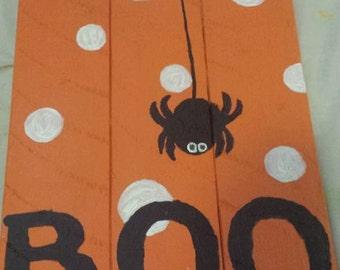 Boo! Halloween Sign