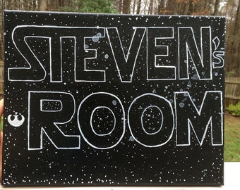 SAMPLE Personalized StarRoom Sign