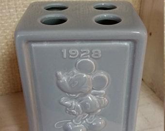 Vintage Disney 1928 Mickey Mouse Bathroom Toothbrush Holder