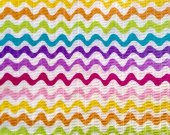 One Half Yard  of Fabric - Ric Rac Rainbow
