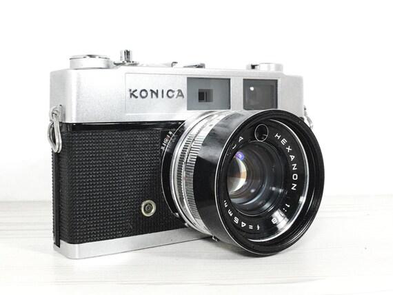 Konica Auto S2 rangefinder camera  - vintage camera - 35mm camera
