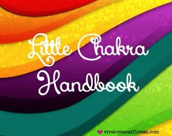 Little Chakra Handbook PDF E-book & FREE Chakra Affirmations PDF Yayy!