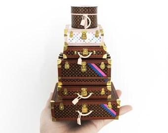 Louis Vuitton Trunks/ hard luggage