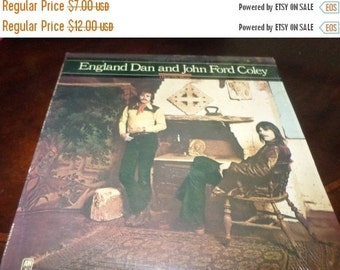 Save 30% Today Vintage 1976 Vinyl LP Record England Dan and John Ford Coley I Hear The Music Near Mint Condition