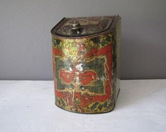 Large Vintage Pepper Tin, General Store Advertising