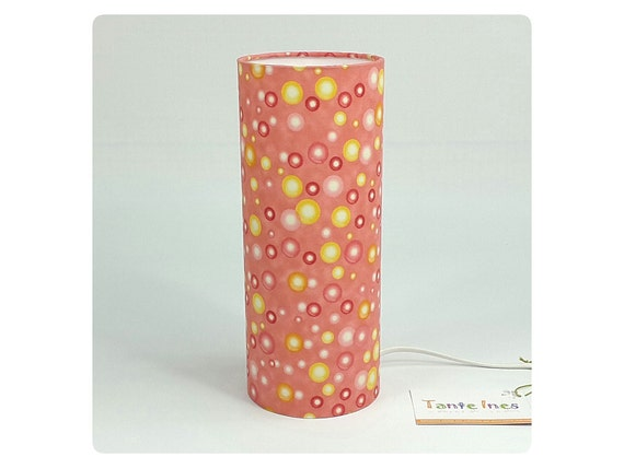 Lampe de chevet bubble corail for Lampe de chevet fillette