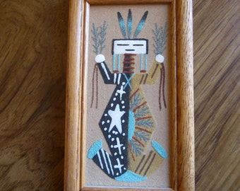 Native American Yei Sand Painting