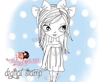 Anna-sketch Digital Stamp