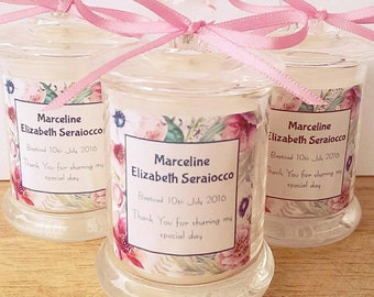 Baby Shower, Christening, Baptism or Birthday Party Candles
