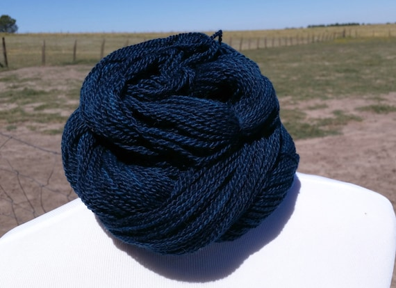 Free Knitting Patterns Alpaca Yarn : Hand Dyed Alpaca Yarn Baby Alpaca Yarn DK Yarn Blue Yarn Free