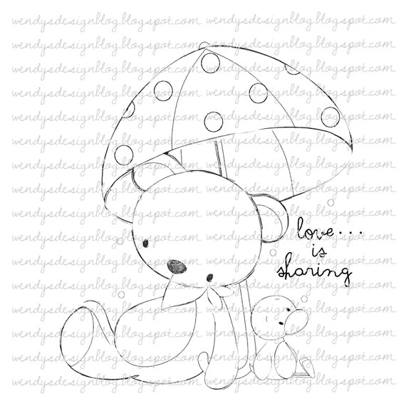 Pitter Patter Rain Drops