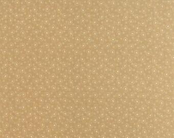 Polka Dots and Paisleys Mini Paisley Tan - 1/2yd