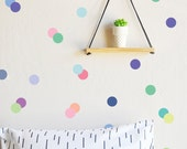 """Ice Cream Palette 3"""" Dots - WALL DECAL"""
