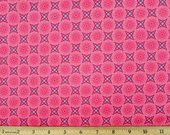 Friendly Forest Pink Fabric Fabric From SPX By the Yard