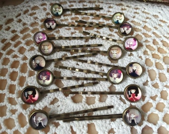 Vintage Doll hairpin