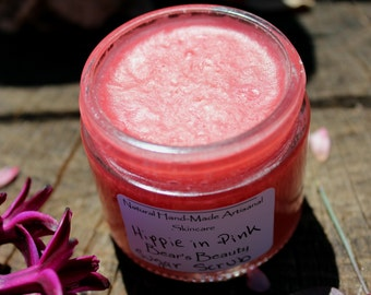 Light Poppy Rose + Vetiver Sugar Scrub