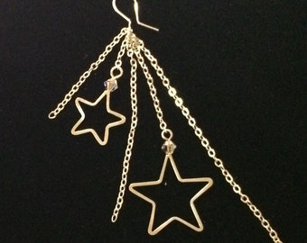 Sterling Silver Starbust Earrings
