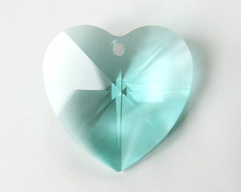8781 Swarovski Heart 28MM  Antique Green  6PCS- Wholesale Pricing- Lowest pricing  and Quick Shipping!!
