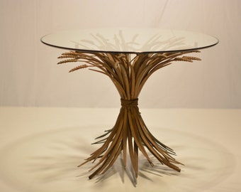 Small Sheaf of Wheat Side Table