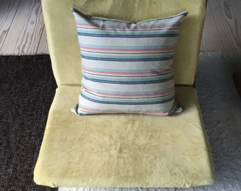 Modern Striped Wool Pillow, Made with Pendleton Wool Fabric