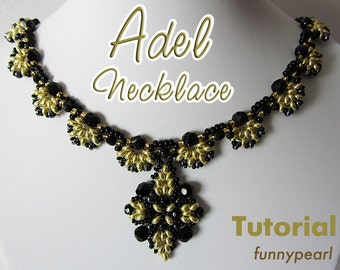 Necklace Adel. Tutorial PDF