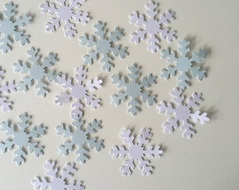 Frozen confetti, table scatter, die cut.  Snowflakes. Frozen party decor. Scrapbooking.
