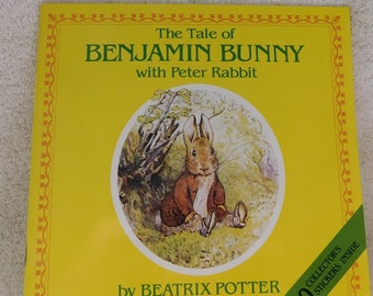 Vintage The tale of Benjamin Bunny with Peter Rabbit